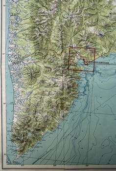 Камчатка - карта